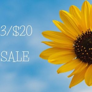 Other - All items with 🌻 are 3/$20